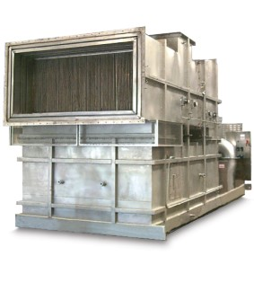 High-Temperature Heater Supports Dairy Spray Drying
