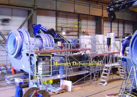 Wind Turbine Dehumidification
