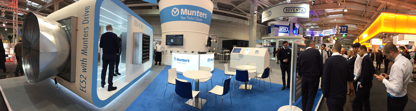 Munters and Reventa EuroTier 2016