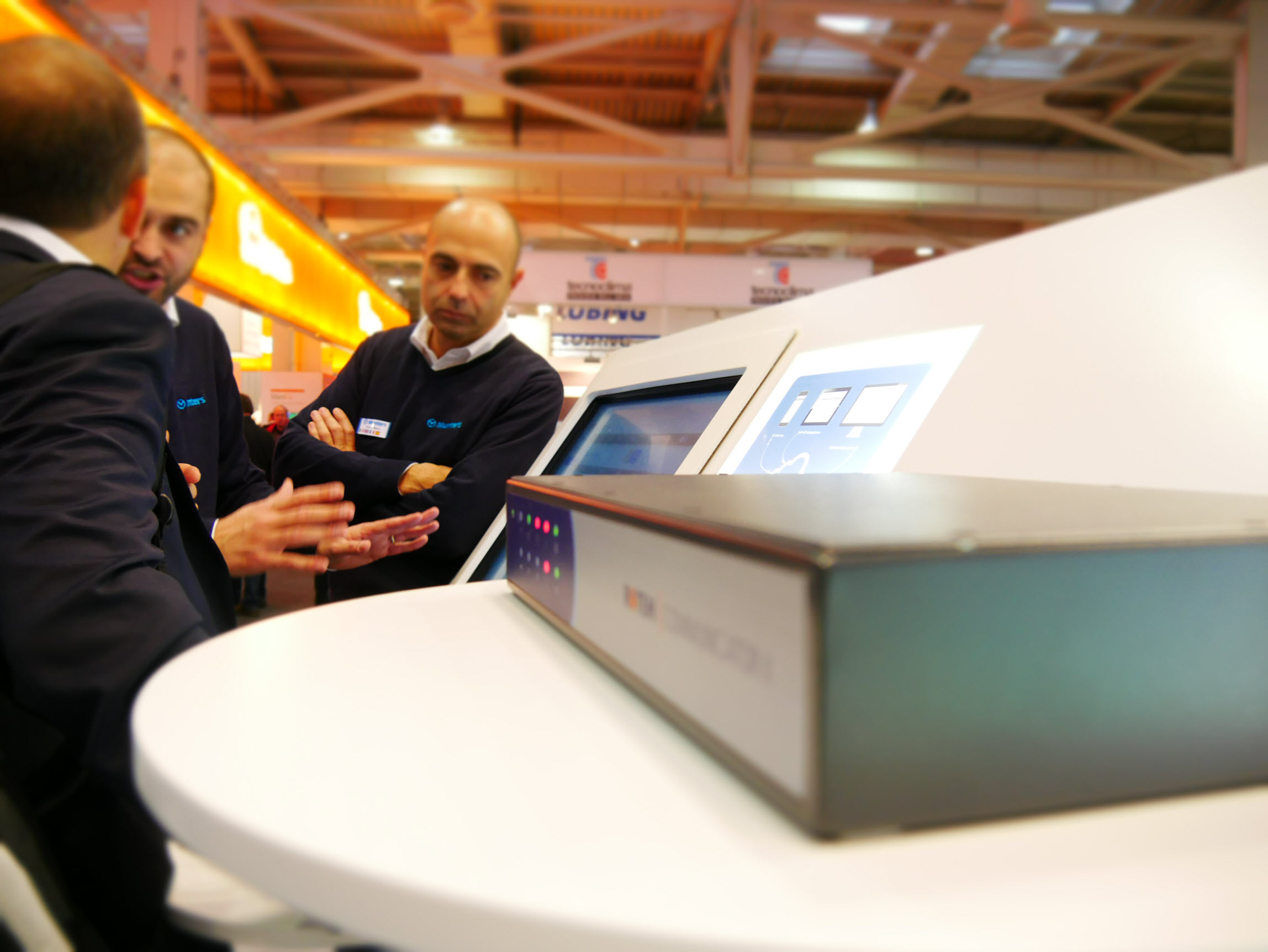 Munters Communicator box at EuroTier 2016