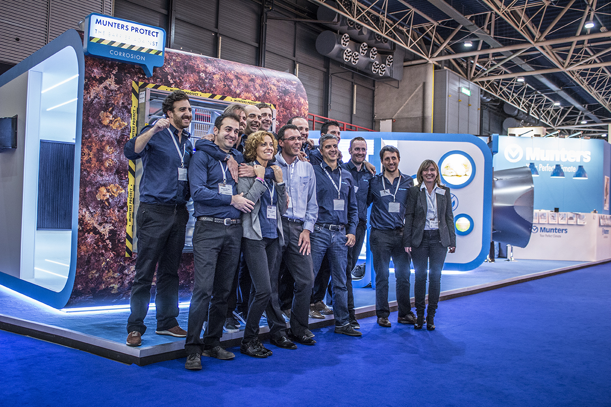 Munters crew at EuroTier 2014