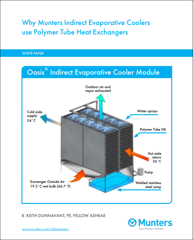 Why Munters Indirect Evaporative Coolers use Polymer Tube Heat Exchangers Cover 2.PNG