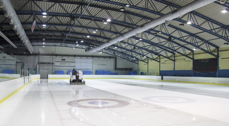 Ice Rink Dehumidification Industries Munters