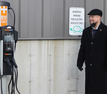Munters installs EV charging stations in the USA