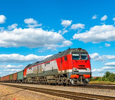 Munters chooses rail transport